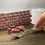 Franterd Baby Educational Toys Sets, 24 Pcs Mini Red Bricks+ Mortar + Shovel - Mini Cement Cinder Bricks Build Your Own Tiny Wall Building Model Tool from Franterd