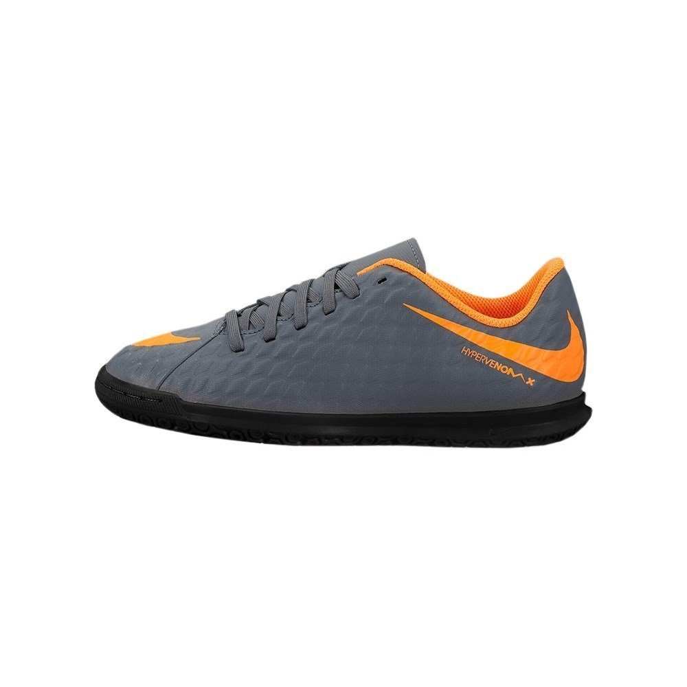 0b108fbe5 Amazon.com  Nike Jr. Hypervenom PhantomX 3 Club (IC) Indoor-Competition  Football Boot - Dark Grey  Sports   Outdoors