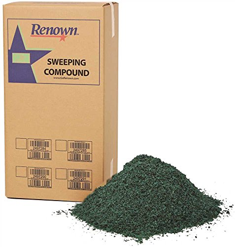 Renown REN04013 Sweeping Compound Oil Base, No Grit, 50 lb. Box, - Compound Oil Base Sweeping Grit