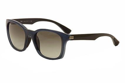 1d3bab9271c Amazon.com  Ray Ban RB4197 Sunglasses-604211 Opal Blue Gray (Gray ...