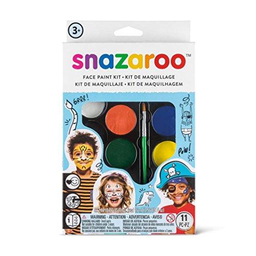 (Snazaroo Face Paint Palette Kit, Adventure)