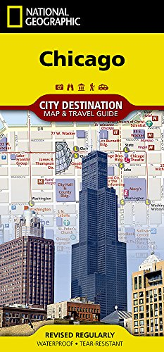 Chicago (National Geographic Destination City Map)