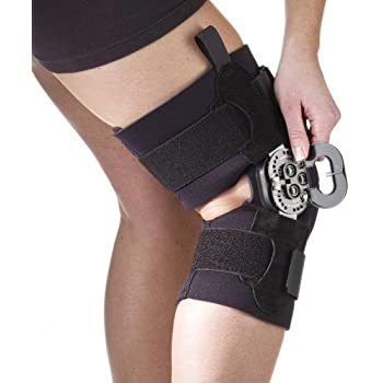 ba08790257 Amazon.com: Hyperextension Knee Brace for Recovery & Prevention-XL ...