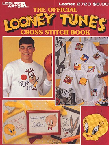 The Official Looney Tunes Cross Stitch Book Leaflet 2723 - Cross Stitch Chart Book