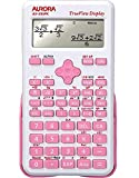Aurora AX-595PK Scientific Calculator - Pink n Ideal Calculator for Secondary School (KS3/4) and Those Studying for GCSE Maths and Beyond