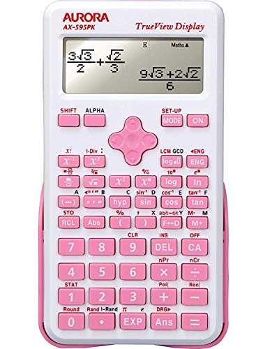Aurora AX-595PK Scientific Calculator - Pink n Ideal Calcula
