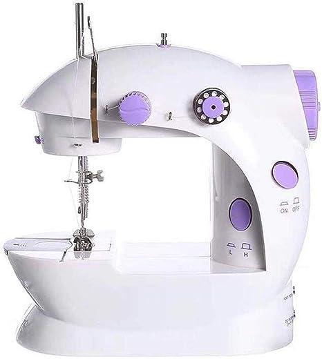 Yuaer Mini máquina de coser de dos velocidades con máquina de ...