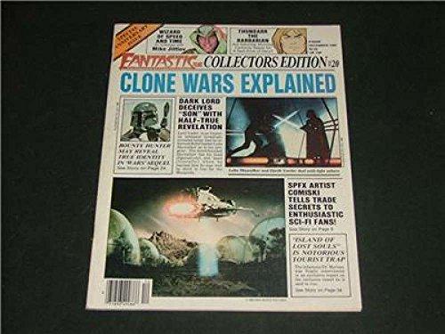 Fantastic Films Dec '80 Clone Wars Explained, Lost Souls, SPFX, Zen