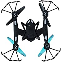 PINCHUANGHUI AG-01 RC Racing Drone Toys 2.4G 4CH 6 Axis Gyro Remote Control Helicopters 3D Flashing Rollover Professional-Blue
