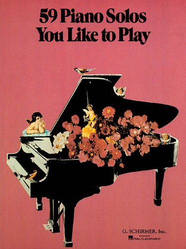 59 Piano Solos You Like to Play (Tapa Blanda)