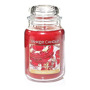 Charmant Yankee Candle Christmas Punch Large Jar Candle
