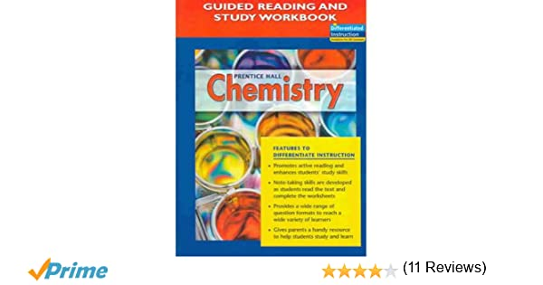 Amazon.com: Prentice Hall Chemistry: Guided Reading and Study ...