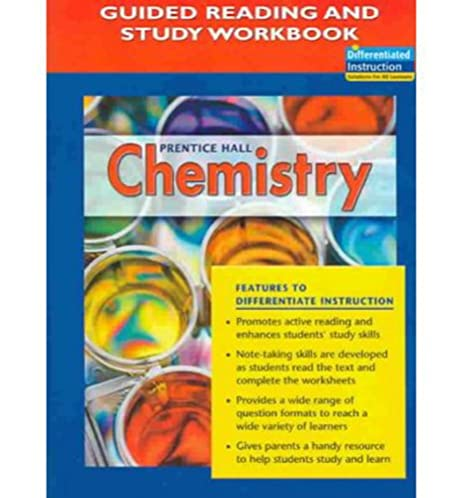 amazon com prentice hall chemistry guided reading and study rh amazon com NJATC Workbook Answers Vadets Workbook Answer Key