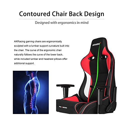51pMmPeqoiL - AKRacing-Pro-X-Luxury-XL-Gaming-Chair-with-High-Backrest-Recliner-Swivel-Tilt-Rocker-and-Seat-Height-Adjustment-Mechanisms-with-510-warranty