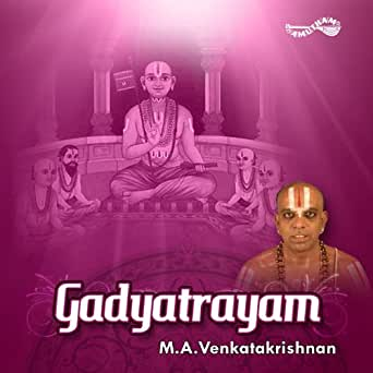 Saranagati gadya (full song) malola kannan download or listen.