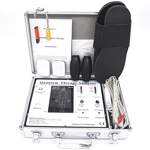 Quantum Resonance Magnetic Analyzer with Body Health Massage Therapy 47 Report English Spanish 4.2.1 Software