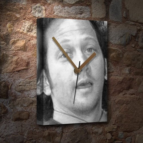 ROB SCHNEIDER - Canvas Clock (LARGE A3 - Signed by the Artist) #js001