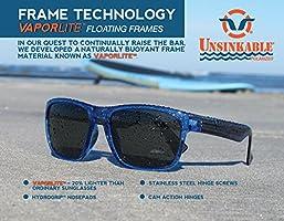60acd64379 Unsinkable Polarized Unisex Kraken Floating Polarized Sunglasses