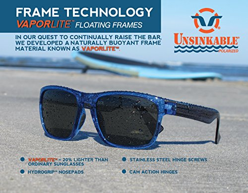 cfb14a0afff Amazon.com   Unsinkable Polarized Men s Torrent floating polarized  sunglasses