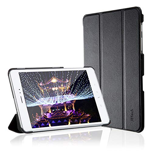 JETech Case for Samsung Galaxy Tab A 8.0 inch 2015 Model Tablet (NOT for 2017 Model), Smart Cover with Auto Sleep/Wake Feature (Black)