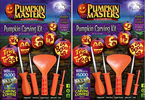 Pumpkin Masters Pumpkin Carving Kit, bundle of 2 Kits -