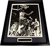 Wilt The Stilt Chamberlain Signed Autograph 16X20 Photo Framed LA Lakers GA