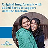 Ridgecrest Herbals ClearLungs Immune, 60 Cap