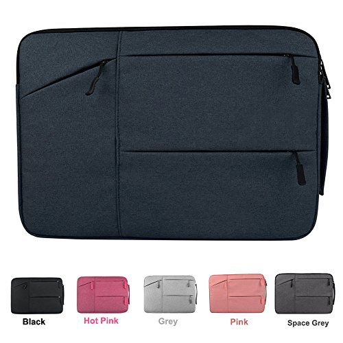 13-13.3 Inch Water-Resistant Shockproof Laptop Sleeve with Handle for 13 Inch Macbook Pro 2016 Retina, Macbook Air 13.3