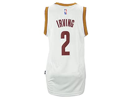 huge sale 15597 e71f6 Amazon.com : adidas Kyrie Irving Men's White Cleveland ...