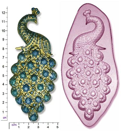 Molde de silicona para figuras de azúcar, diseño de pavo ...