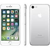 Apple iPhone 7 Plata 128 GB (Renewed)