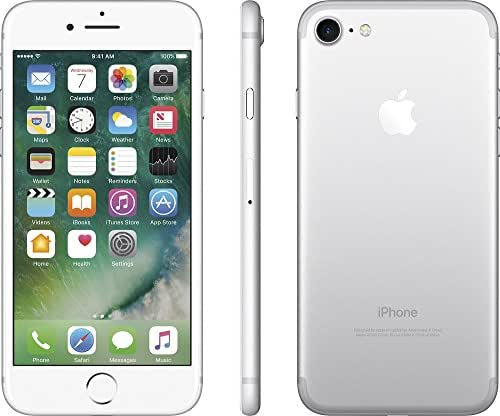 Apple iPhone 7, GSM Unlocked, 128GB - Silver (Renewed)