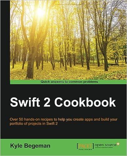 Swift 2 Cookbook ISBN-13 9781785889219