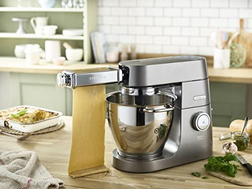 Kenwood MAX980ME Pasta Food Processor Accessories, Aluminium, Chrome, Stainless Steel, Silver