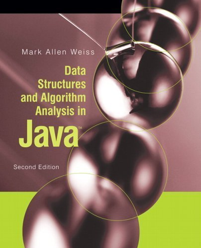 Data Structures and Algorithm Analysis in Java (2nd (second) Edition)
