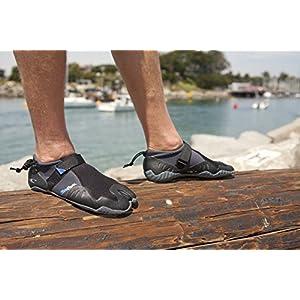 O'Neill Wetsuits Mens Superfreak Tropical 2 mm Split Toe Boot , Black, 12