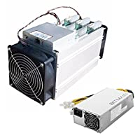 Bitmain Antminer V9 4TH/s ASIC 16nm Bitcoin BTC Miner with Power Supply APW7