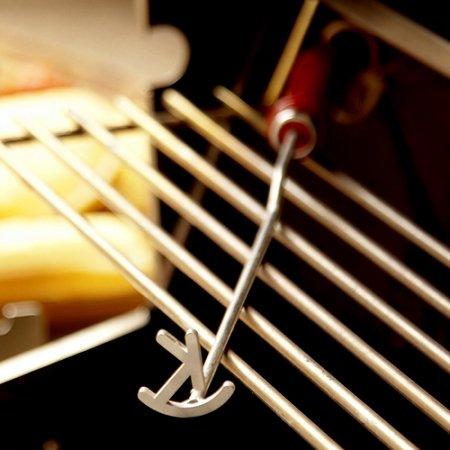 Single Letter Western Steak Branding Iron - Letter K