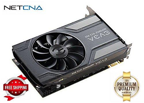 EVGA GeForce GTX 950 Superclocked graphics card - GF GTX 950 - 2 GB - black - By NETCNA