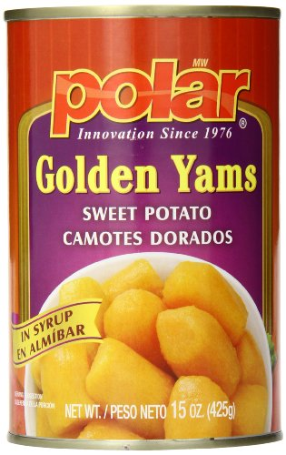 - MW Polar Golden Yams Cut Sweet Potato, 15 Ounce (Pack of 24)