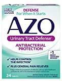 #6: AZO Urinary Tract Defense Antibacterial Protection | Helps Control a UTI Until You Can See a Doctor | #1 Most Trusted Urinary Health Brand | 24 Tablets