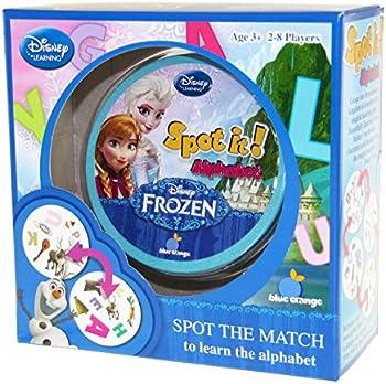 Disney Spot It Kids Card Match Game (Frozen)