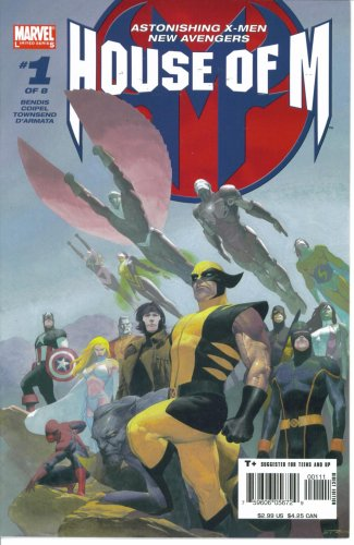 House of M #1 : Featuring the Astonishing X-Men and the New Avengers (Marvel Comics) ebook