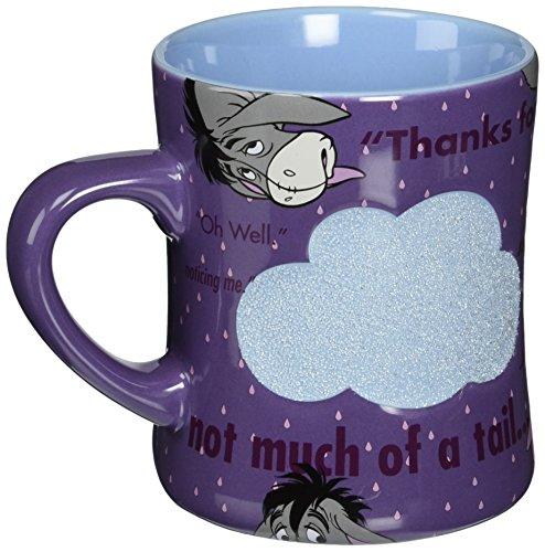 Disney Parks Exclusive Eeyore Quotes Beaded Textured Coffee (Beaded Mug)