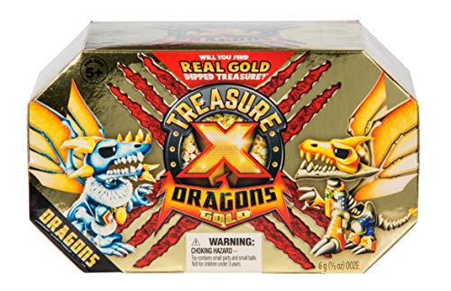Treasure X Quest for Dragons Gold - Deluxe Dragon Figure