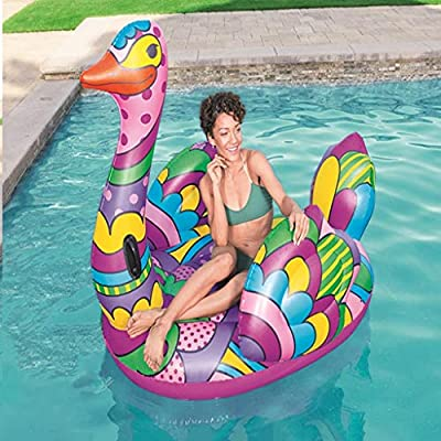 LCYCN Inflatable Pool Float,Giant Inflatable Ride-ons Pool Rafts, Grown-Up Toys Kids' Swim Floats - Swimming Pool Loungers for Beach by LCYCN