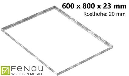 Fenau | de rejilla zarge Dimensiones: 600 x 800 x 23 mm para ...