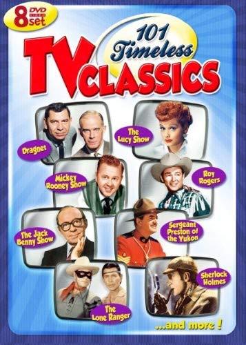 101 Timeless TV Classics – 8 DVD Set! Over 40 Hours!