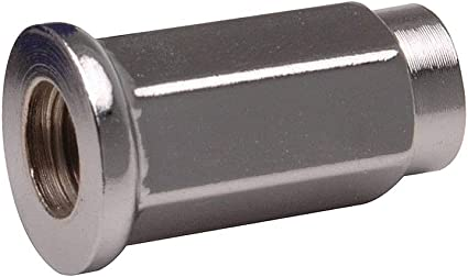 17mm Head Flat Base ITP Lug Nuts Chrome 10mm