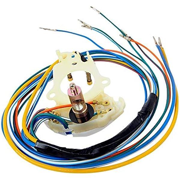 Amazon.com: 1965-1966 MUSTANG & SHELBY W/ALTERNATOR TURN SIGNAL SWITCH:  Automotive | 1965 Chevrolet Turn Signal Wiring Harnness |  | Amazon.com